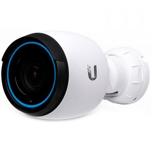"Ubiquiti UniFi IP Bullet Camera UVC-G4-PRO, 4K Ultra HD (3840 x 2160), 24 FPS, F 4.24 - 12.66 mm, #/1.53 - #/3.3, Wide-Angle/Zoom Lens, OS08A20 Sensor, 1/1.8"", IR, IP67, Built-in Microphone ""UVC-G4-PR 0"