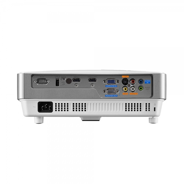 "Proiector BENQ MW632ST, DLP, WXGA 1280x 800, 3200 lumeni, 13.000:1,lampa 10.000 ore Smart Eco, D-sub, Composit, S-Video, HDMI, RCA, boxa 10W, telecomanda, card garantie, culoare alb/ argintiu ""9H.JE27 5"