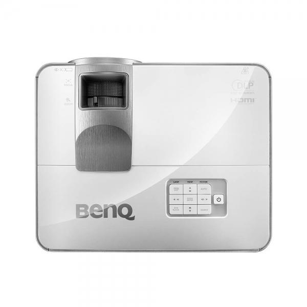 "Proiector BENQ MW632ST, DLP, WXGA 1280x 800, 3200 lumeni, 13.000:1,lampa 10.000 ore Smart Eco, D-sub, Composit, S-Video, HDMI, RCA, boxa 10W, telecomanda, card garantie, culoare alb/ argintiu ""9H.JE27 4"