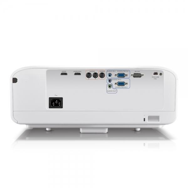 """Proiector BENQ W1600UST, Home Cinema, DLP FHD 1920x 1080, 2800 lumeni, 10.000:1, lampa 6.000 ore Smart Eco, speakers 2*10W, culoare alb+ auriu """"9H.JG477.19E"""" 2"""