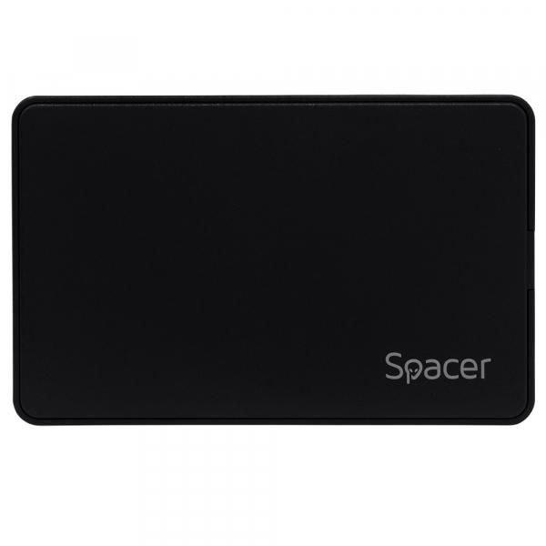 "RACK extern pt. HDD/ SSD 2.5"", SPACER, interfata S-ATA, interfata PC: Type-C, plastic, ""SPR-TYPE-C-01"" 0"
