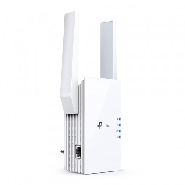 "RANGE EXTENDER TP-LINK wireless  1800Mbps, 1 port Gigabit,  2 antene externe, 2.4 / 5Ghz dual band, Wi-Fi 6, ""RE605X"" (include timbru verde 1.5 lei) 2"