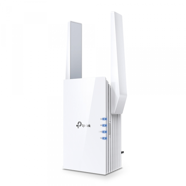 "RANGE EXTENDER TP-LINK wireless  1800Mbps, 1 port Gigabit,  2 antene externe, 2.4 / 5Ghz dual band, Wi-Fi 6, ""RE605X"" (include timbru verde 1.5 lei) 0"