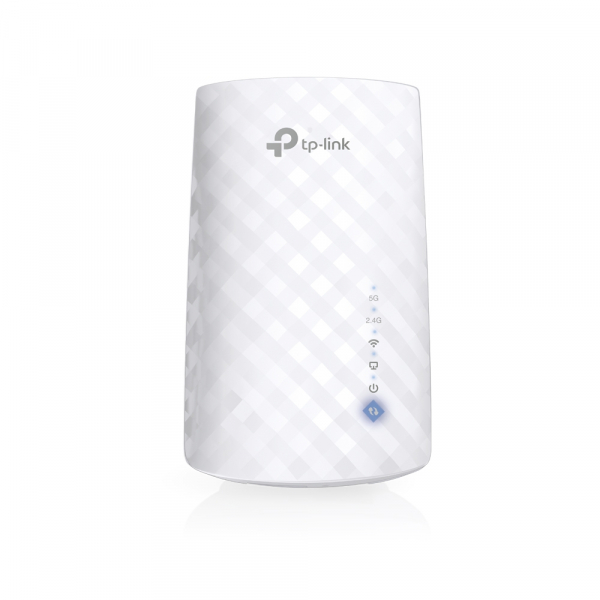 """RANGE EXTENDER TP-LINK wireless 750Mbps,3 antene interne, dual band AC750, 2.4GHz & 5GHz """"RE190"""" (include timbru verde 1.5 lei) 0"""