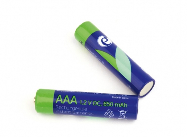 "Rechargeable AAA instant batteries (ready-to-use), 850mAh, 2pcs blister pack ""EG-BA-AAA8R-01"" 0"