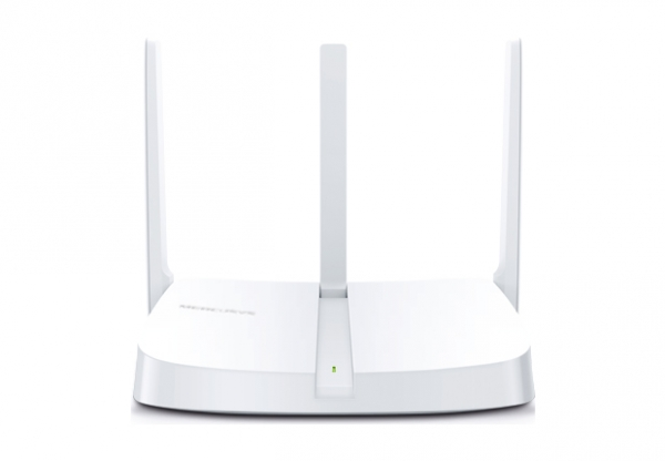 """ROUTER 4 PORTURI WIRELESS 300Mbps 2T2R, Mercusys, """"MW305R"""" (include timbru verde 0.5 lei) 1"""