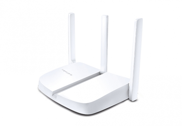"""ROUTER 4 PORTURI WIRELESS 300Mbps 2T2R, Mercusys, """"MW305R"""" (include timbru verde 0.5 lei) 0"""