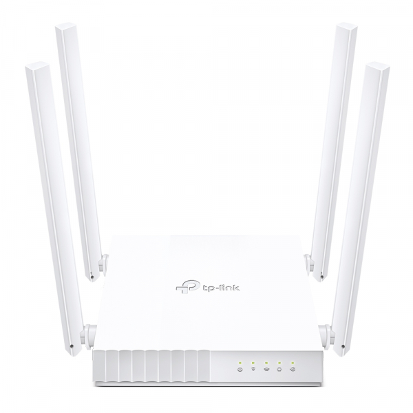 """ROUTER TP-LINK wireless  750Mbps, 4 porturi 10/100Mbps, 4 antene externe, Dual Band AC750 """"Archer C24"""" (include timbru verde 1.5 lei) [0]"""