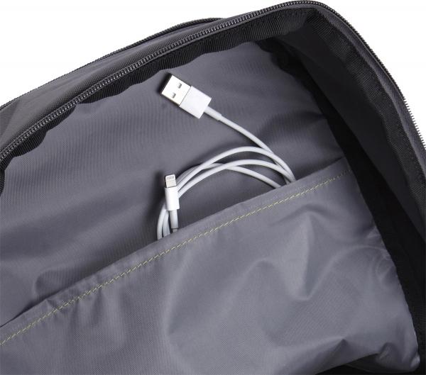 "RUCSAC CASE LOGIC notebook 15.6"", poliester, 2 compartimente, buzunar interior tableta, buzunar frontal, 2 buzunare laterale, antracit ""WMBP-115ANTHRACITE""/3203515 5"