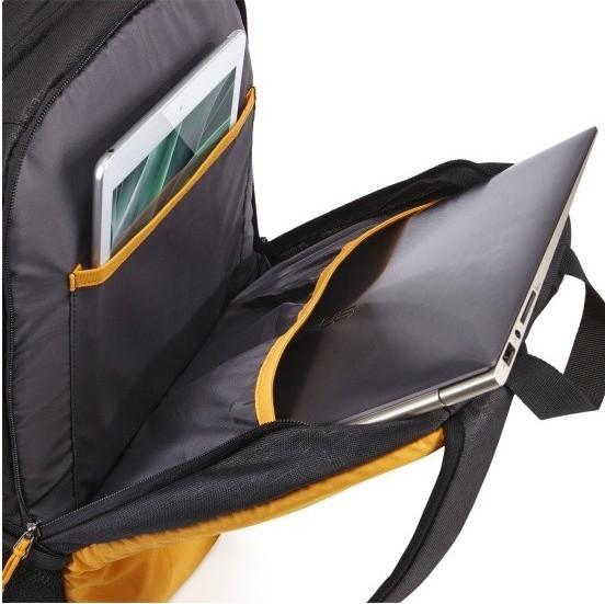 """RUCSAC CASE LOGIC notebook 15.6"""", poliester, 2 compartimente, buzunar interior tableta, buzunar frontal, 2 buzunare laterale, black, """"IBIR115ANTHRACITE""""/3202822 [2]"""