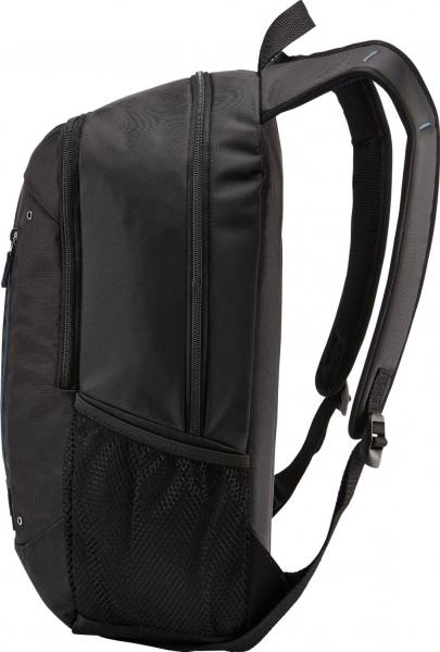 """RUCSAC CASE LOGIC notebook 15.6"""", poliester, 2 compartimente, buzunar interior tableta, buzunar frontal, 2 buzunare laterale, black """"WMBP115K""""/532330 7"""