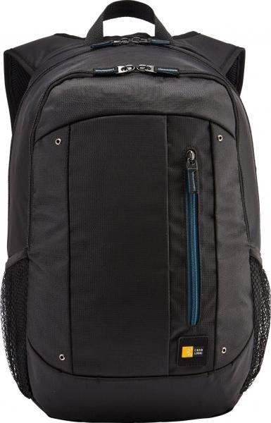 """RUCSAC CASE LOGIC notebook 15.6"""", poliester, 2 compartimente, buzunar interior tableta, buzunar frontal, 2 buzunare laterale, black """"WMBP115K""""/532330 0"""