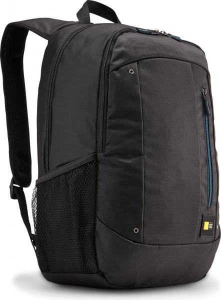 """RUCSAC CASE LOGIC notebook 15.6"""", poliester, 2 compartimente, buzunar interior tableta, buzunar frontal, 2 buzunare laterale, black """"WMBP115K""""/532330 8"""