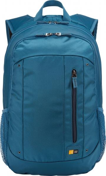 """RUCSAC CASE LOGIC notebook 15.6"""", poliester, 2 compartimente, buzunar interior tableta, buzunar frontal, 2 buzunare laterale, blue """"WMBP115MID""""/3203406 0"""