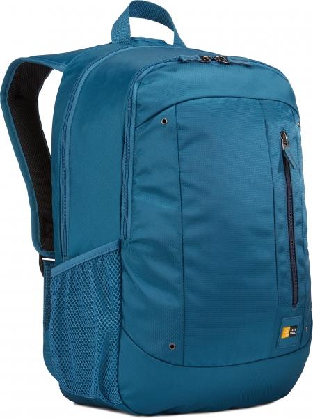 """RUCSAC CASE LOGIC notebook 15.6"""", poliester, 2 compartimente, buzunar interior tableta, buzunar frontal, 2 buzunare laterale, blue """"WMBP115MID""""/3203406 1"""
