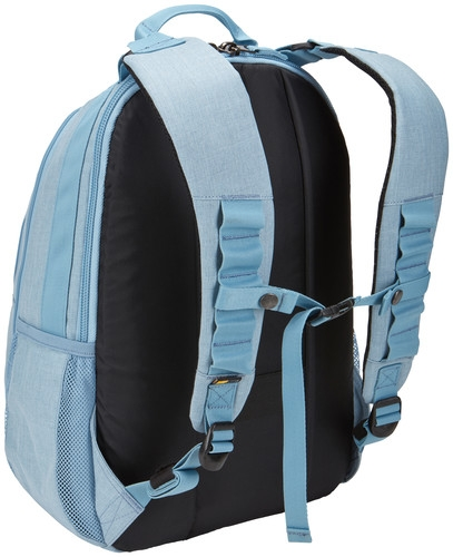 """RUCSAC CASE LOGIC notebook 15.6"""", poliester, 2 compartimente, buzunar interior tableta, buzunar frontal, 2 buzunare laterale, buzunar dorsal ascuns, Berkeley, blue """"BPCA315 LIGHT BLUE/3203615"""" [2]"""