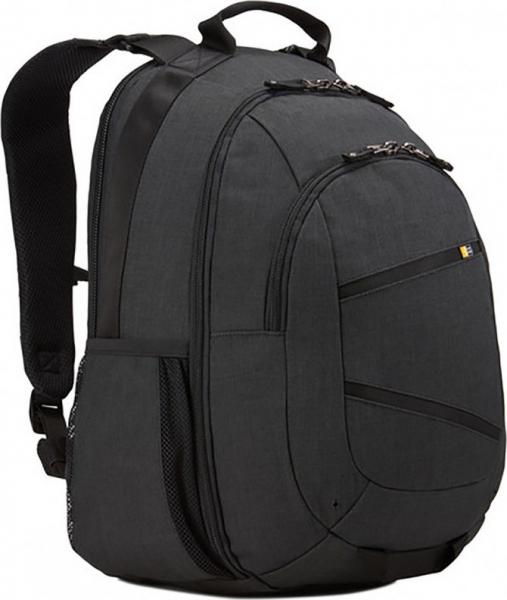 """RUCSAC CASE LOGIC notebook 15.6"""", poliester, 2 compartimente, buzunar interior tableta, buzunar frontal, 2 buzunare laterale, buzunar dorsal ascuns, black, """"Berkeley"""" """"BPCA315 Black/3203613"""" [0]"""
