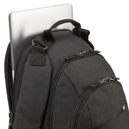 """RUCSAC CASE LOGIC notebook 15.6"""", poliester, 2 compartimente, buzunar interior tableta, buzunar frontal, 2 buzunare laterale, buzunar dorsal ascuns, glacier/gray, """"Berkeley"""" """"BPCA315 GLACIER/GRAY/3203 [4]"""