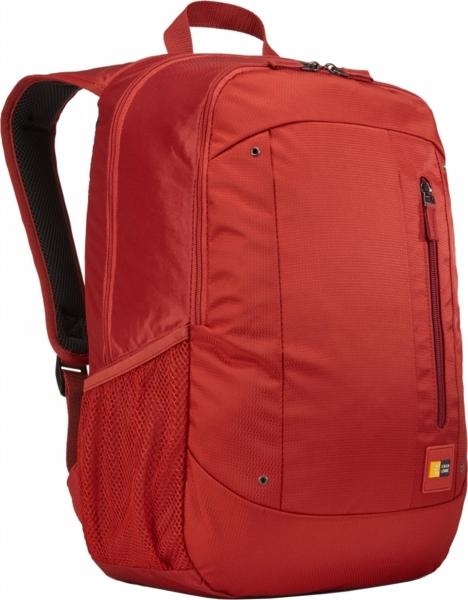 "RUCSAC CASE LOGIC notebook 15.6"", poliester, 2 compartimente, buzunar interior tableta, buzunar frontal, 2 buzunare laterale, red ""WMBP115BRK""/3203407 1"