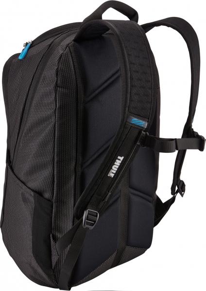 "RUCSAC THULE notebook 15.6"", nylon, 2 compartimente, buzunar interior tableta, 2 buzunare frontale, 2 buzunare laterale, 25 litri, black, ""Crossover"" ""TCBP317K""/3201989 [3]"