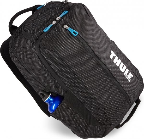 "RUCSAC THULE notebook 15.6"", nylon, 2 compartimente, buzunar interior tableta, 2 buzunare frontale, 2 buzunare laterale, 25 litri, black, ""Crossover"" ""TCBP317K""/3201989 [1]"