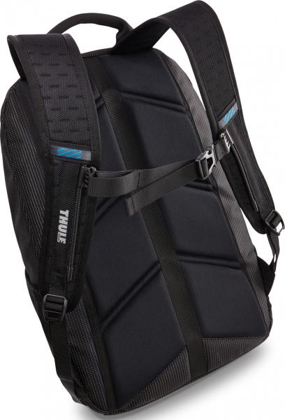 "RUCSAC THULE notebook 15.6"", nylon, 2 compartimente, buzunar interior tableta, 2 buzunare frontale, 2 buzunare laterale, 25 litri, black, ""Crossover"" ""TCBP317K""/3201989 [2]"