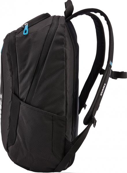 "RUCSAC THULE notebook 15.6"", nylon, 2 compartimente, buzunar interior tableta, 2 buzunare frontale, 2 buzunare laterale, 25 litri, black, ""Crossover"" ""TCBP317K""/3201989 [5]"