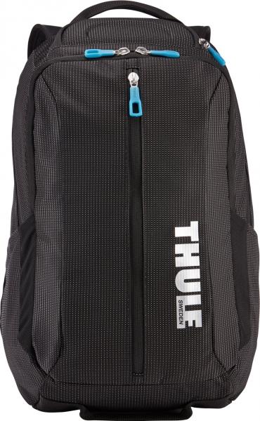 "RUCSAC THULE notebook 15.6"", nylon, 2 compartimente, buzunar interior tableta, 2 buzunare frontale, 2 buzunare laterale, 25 litri, black, ""Crossover"" ""TCBP317K""/3201989 [4]"