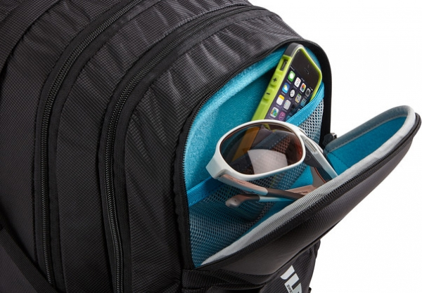 "RUCSAC THULE notebook 15.6"", nylon, 3 compartimente, buzunar interior tableta, 1 buzunar frontal, 2 buzunare laterale, 27 litri, black, ""EnRoute Escort 2"" ""TEED217K""/3202887 [5]"