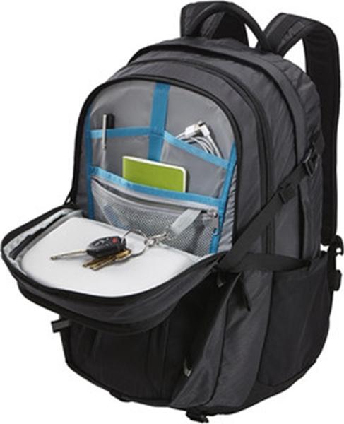 "RUCSAC THULE notebook 15.6"", nylon, 3 compartimente, buzunar interior tableta, 1 buzunar frontal, 2 buzunare laterale, 27 litri, black, ""EnRoute Escort 2"" ""TEED217K""/3202887 [9]"