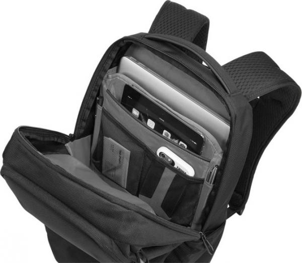 "RUCSAC THULE notebook 15.6"", poliester, 1 compartiment, buzunar interior tableta, 2 buzunare frontale, 2 buzunare laterale, 23 litri, black, ""Accent 23L"" ""TACBP116K""/3203623 [3]"