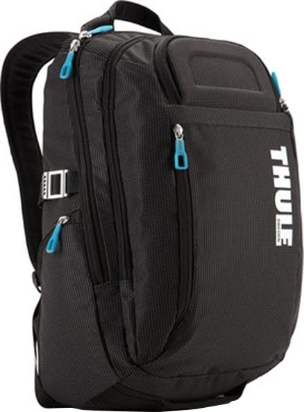 "RUCSAC THULE notebook 15"", nylon, 2 compartimente, buzunar interior tableta, 2 buzunare frontale, 2 buzunare laterale, buzunar dorsal, 21 litri, black, ""Crossover"" ""TCBP115K""/3201751 [0]"