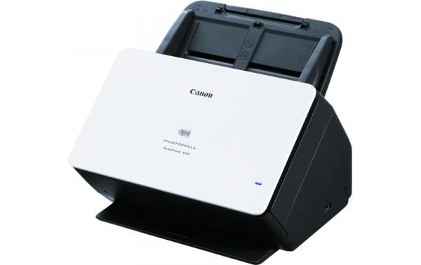 """Scanner Canon ScanFront400, dimensiune A4, tip sheetfed, viteza de scanare 45ppm alb-negru si color, rezolutie optica 600dpi, senzor CIS, TIFF, JPEG, PNG, PDF, PDF/A, """"1255C003AB"""" 0"""