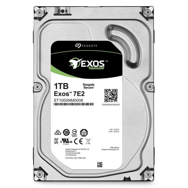 """SEAGATE HDD Server Exos 7E2 512N (3.5\'/1TB/128m/SATA 6Gb/s/7200rpm) """"ST1000NM0008"""" [0]"""