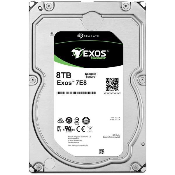 SEAGATE HDD Server Exos 7E8 512E/4kn SED (3.5\'/8TB/SATA 6GB/s/7200rpm) 0
