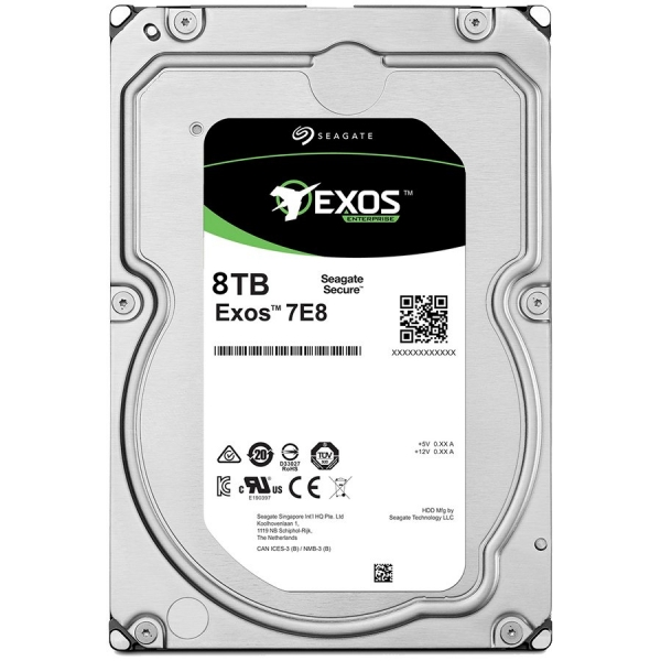 SEAGATE HDD Server Exos 7E8 512E/4kn (3.5\'/8TB/SATA6GB/s/7200rpm) 0