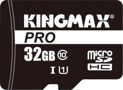 """SECURE DIGITAL CARD MICRO 32GB (Class 10) PRO + adaptor SD KINGMAX """"KM-PS04-32GB-PRO"""" 0"""
