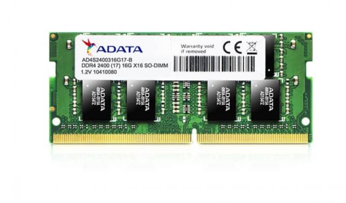 "SODIMM ADATA, 8 GB DDR4, 2666 MHz, ""AD4S26668G19-SGN"" 0"