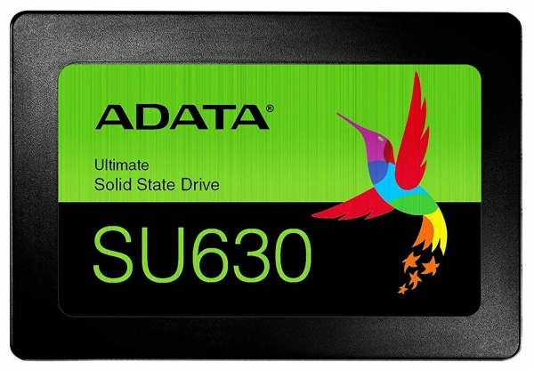 """SSD ADATA, Ultimate SU630, 2.5, 240GB, SATA III, 3D NAND SSD, R/W speed: 520/450MB/s """"ASU630SS-240GQ-R"""" 0"""