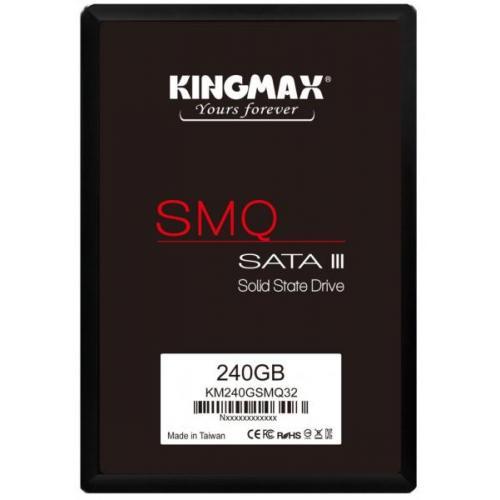 """SSD Kingmax, 240GB, 2.5 inch, S-ATA 3, 3D QLC Nand, R/W: 540 MB/s/450 MB/s MB/s, """"KM240GSMQ32"""" [0]"""
