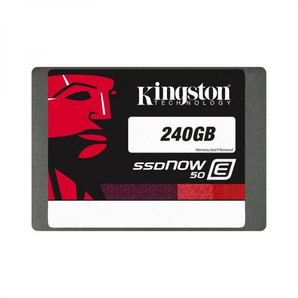 """SSD KINGSTON 2.5"""" SATA3 240GB, MLC, """"SE50S37/240G"""" 0"""
