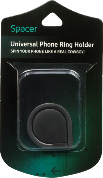 Suport Universal SPACER pentru Telefon, Ring Holder, Retail box, SPT-RH-UPRH 3