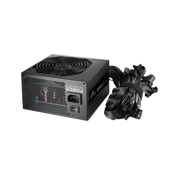 """SURSA FORTRON 600W (real), Hyper. K PRO, fan 12cm, 85% eficienta, 2x PCI-E (6+2), 6x SATA """"HYPER K PRO 600"""" 1"""