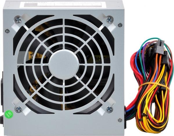 "SURSA LogiStep 500, 300W pt. 500W desktop PC, Gaming PSU 500, 120mm fan, 1x PCI-E (6), 4x S-ATA ""LS-GP-450"" 1"