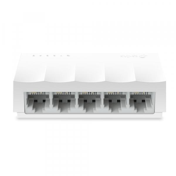 """SWITCH TP-LINK  5 porturi 10/100 Mbps LiteWave, fanless,""""LS1005"""" (include timbru verde 1 leu) 0"""