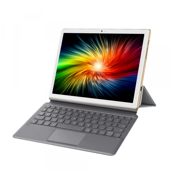 "Tableta Blackview TAB 8 cu Tastatura, 10.1"" IPS, FullHD, Octa-Core, 4GB RAM, 64GB, 4G, Dual Sim, 6580mAh, Camera 13MP, Face ID, Gold 7"