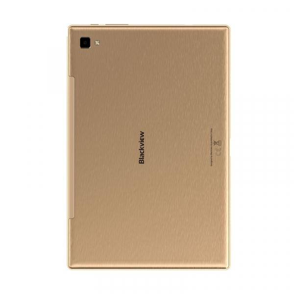 """Tableta Blackview TAB 8  Gold, 10.1"""" IPS, FullHD, Octa-Core, 4GB RAM, 64GB, 4G, Dual Sim, 6580mAh, Camera 13MP, Face ID 3"""