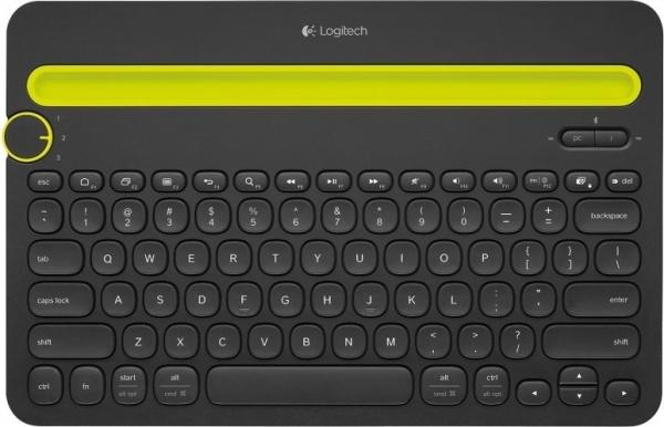 "TASTATURA LOGITECH K480 Bluetooth - INTNL - US International layout - negru ""920-006366"" ( include timbru verde 0.01 Lei )z 0"
