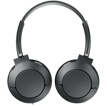 TCL On-Ear Wired Headset, Strong BASS, flat fold, Frequency of response: 10-22K, Sensitivity: 102 dB, Driver Size: 32mm, Impedence: 32 Ohm, Acoustic system: closed, Max power input: 30mW, Connectivity 1