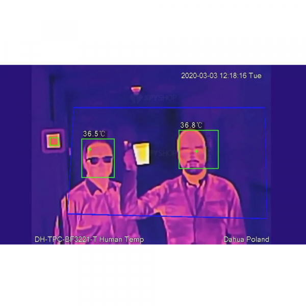 Kit pentru masurarea temperaturii umane Dahua: camera termala, scaner de precizie, smart NVR, licenta ProBase 2
